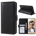 Huawei Honor 9 Premium Wallet Case with Stand Feature - Black
