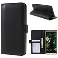 Huawei Mate 10 Pro Premium Wallet Case with Stand Feature - Black