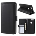 OnePlus 5T Premium Wallet Case with Stand Feature - Black