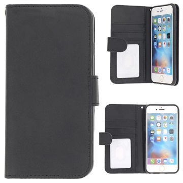 watch 656e4 68971 iPhone 6/6S Premium Wallet Case with Stand Feature - Black