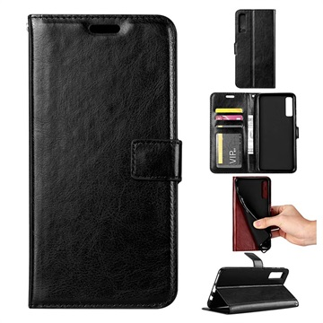 half off 4f750 ab3b1 Samsung Galaxy A7 (2018) Wallet Case with Kickstand Feature