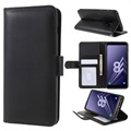 Samsung Galaxy A8 (2018) Premium Wallet Case with Kickstand Feature - Black