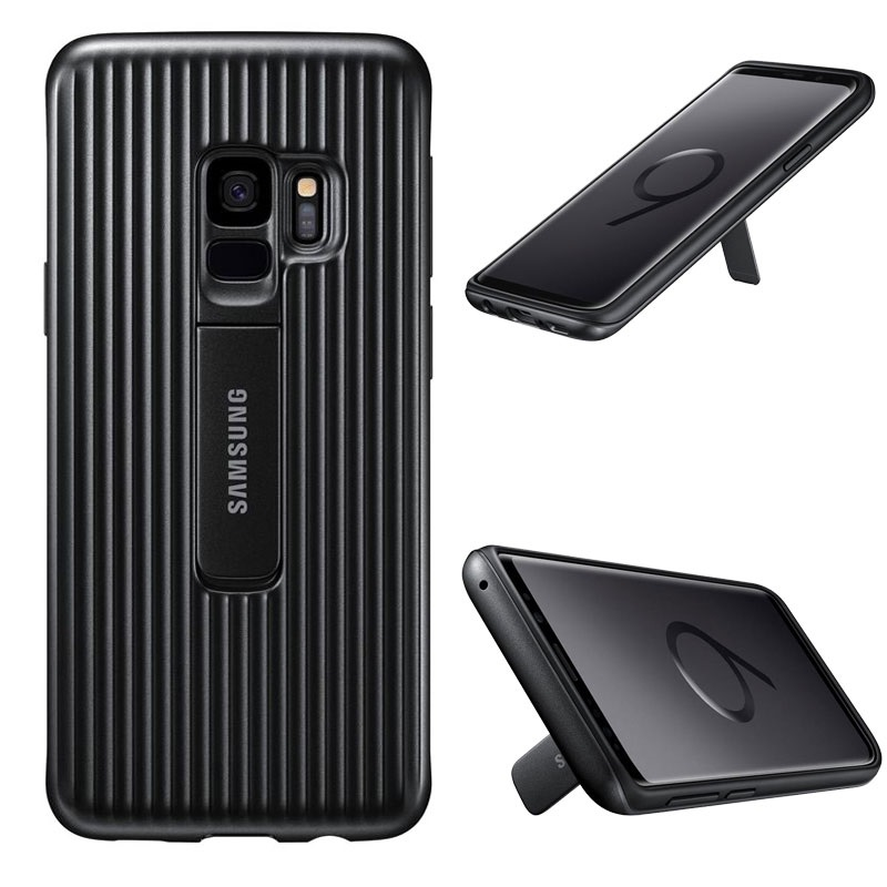 new style 04f12 0a21b Samsung Galaxy S9 Protective Standing Cover EF-RG960CBEGWW
