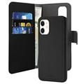Puro 2-in-1 iPhone 11 Magnetic Wallet Case - Black