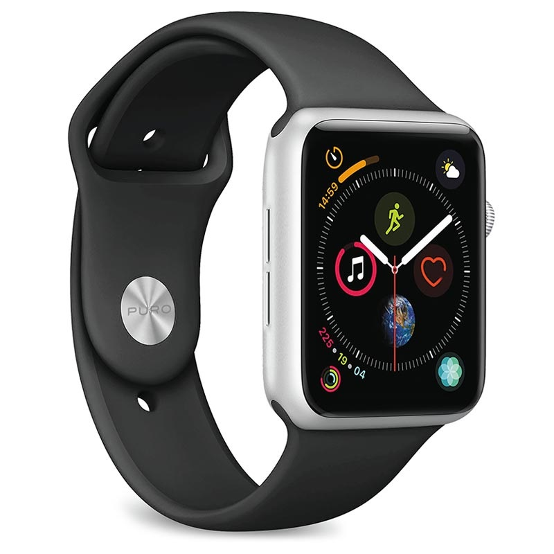 Puro Icon Apple Watch Series 5/4/3/2/1 Silicone Band - 38mm, 40mm