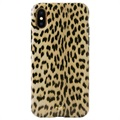 Puro Leopard Anti-Shock iPhone XS Max Case