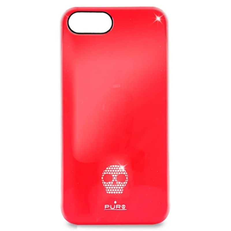iPhone 5 / 5S / SE Puro Skull Click-On Cover