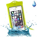 "Puro UltraSlim Universal Waterproof Case - 5.1"" - Green"