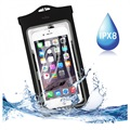 "Puro UltraSlim Universal Waterproof Case 5.7"" - Black"