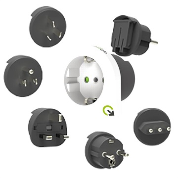 PDU Socket Standard IEC320 C14 Power Cable Connector Male Plug Adap QP