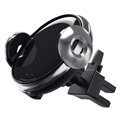 Smart Qi Wireless Car Charger / 360 Car Holder with IR Sensor W9 - 15W