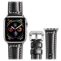 Qialino Apple Watch Series 5/4/3/2/1 Leather Strap - 38mm, 40mm