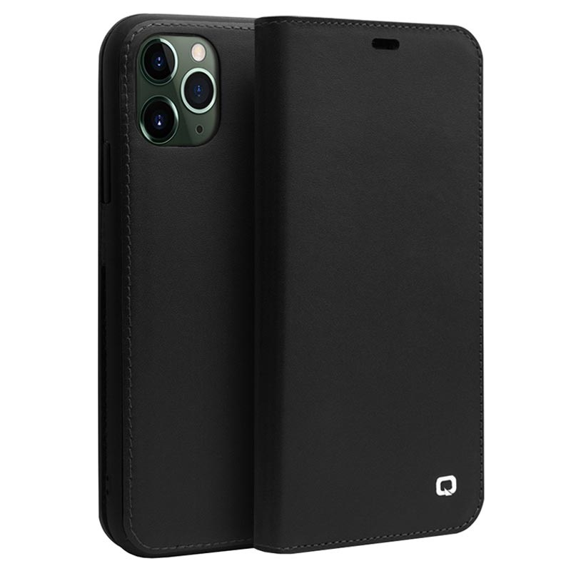 Qialino Classic iPhone 11 Pro Wallet Leather Case