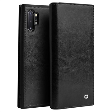 Qialino Classic Samsung Galaxy Note10+ Wallet Leather Case