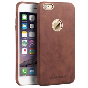 iPhone 6 Plus / 6S Plus Qialino Slim Leather Coated Hard Case