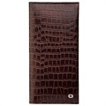 Qialino Universal Wallet Leather Case - Bamboo - Brown