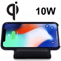RAVPower Fast Qi Wireless Charging Stand - Black