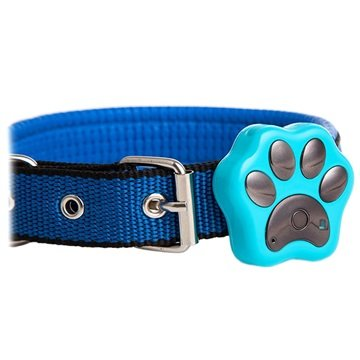 Reachfar RF-V30 Water-resistant Smart GPS Pet Tracker - S - Blue