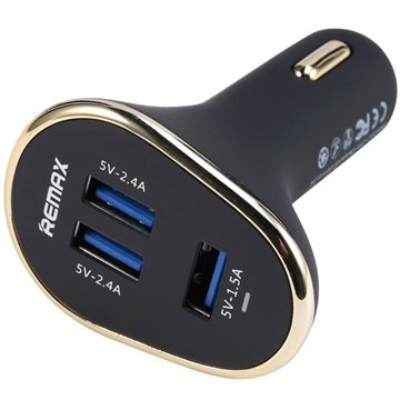 Remax Smart Triple USB Port Car Charger