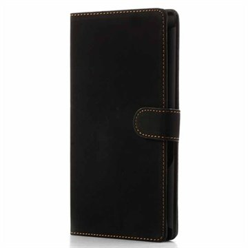 Sony Xperia Z Ultra Retro Wallet Leather Case