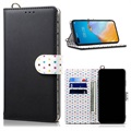 Retro Polka Dot Huawei P40 Lite Wallet Case