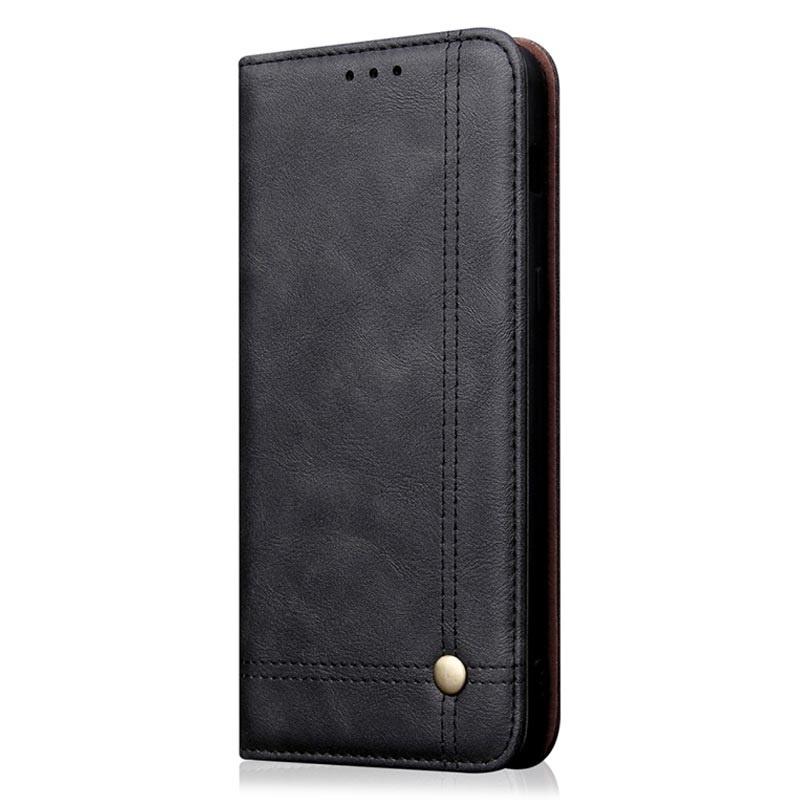 Retro Series iPhone 11 Wallet Case with Card Slot