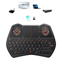 Rii Mini I28 Multifunctional Wireless Keyboard - Black