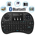 Rii Mini i8+ Multifunctional Bluetooth Keyboard - Black