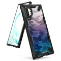 Ringke Fusion X Design Samsung Galaxy Note10+ Hybrid Case - Camouflage / Black