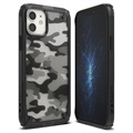 Ringke Fusion X Design iPhone 12 Mini Hybrid Case - Camouflage / Black