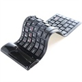 Roll-Up Bluetooth Keyboard - Black
