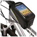 "Roswheel Universal Smartphone Bicycle Case - 4.2"" - Black / Grey / Green"