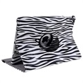 iPad 9.7 2017/2018 Rotary Case - Zebra