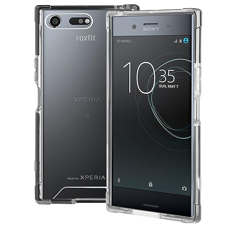 Sony Xperia XZ Premium Roxfit Impact Gel Shell Case - Silver