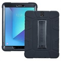 Samsung Galaxy Tab S3 9.7 Rugged Kickstand Case - Black