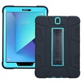 Samsung Galaxy Tab S3 9.7 Rugged Kickstand Case - Blue / Black