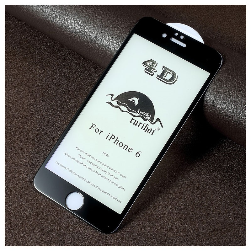 iPhone 6/6S Rurihai 4D Anti-Blue Ray Tempered Glass Screen Protector