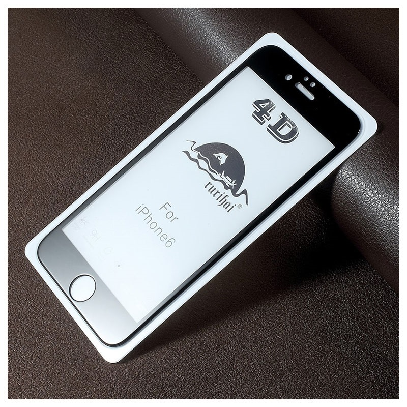 iPhone 6/6S Rurihai 4D Full Size Tempered Glass Screen Protector
