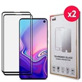 Saii 3D Premium Samsung Galaxy S10e Tempered Glass - 2 Pcs.