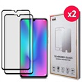 Saii 3D Premium Huawei P30 Tempered Glass Screen Protector - 2 Pcs.