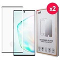 Saii 3D Premium Samsung Galaxy Note10+ Tempered Glass - 9H, 2 Pcs.