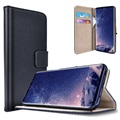 Samsung Galaxy S9 Saii Classic Wallet Case - Black