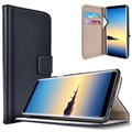 Samsung Galaxy Note8 Saii Classic Wallet Case - Black