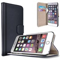 iPhone 6 Plus/6S Plus Saii Classic Wallet Case - Black