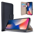 iPhone X Saii Classic Wallet Case - Black