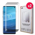 Saii 3D Premium Samsung Galaxy S10 Tempered Glass - 2 Pcs.