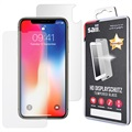 iPhone X Saii Premium HD Front & Back Tempered Glass Protection Set