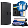 Saii Premium Huawei Mate 20 Wallet Case - Black