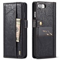iPhone 7 Plus / iPhone 8 Plus Saii Retro Multi-Slot Wallet Case