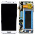 Samsung Galaxy S7 Edge Front Cover & LCD Display - White